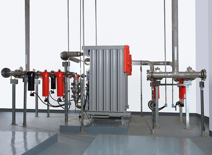 压缩空气无热再生系统